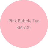 Kelly-Moore Paint KM5482 Pink Bubble Tea is a medium tone pink color. Interior and exterior rated.
