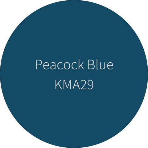 Kelly-Moore Paint KMA29 Peacock Blue is a rich, brilliant blue. Interior and exterior rated.