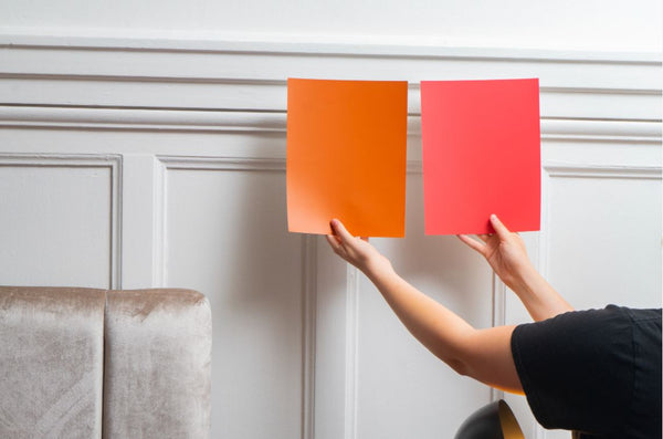 Choose the best paint colors with Kelly-Moore large scale COLOR Swatches paint color samples