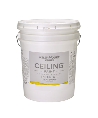 Kelly-Moore Ceiling Interior Flat Paint 5 Gallons
