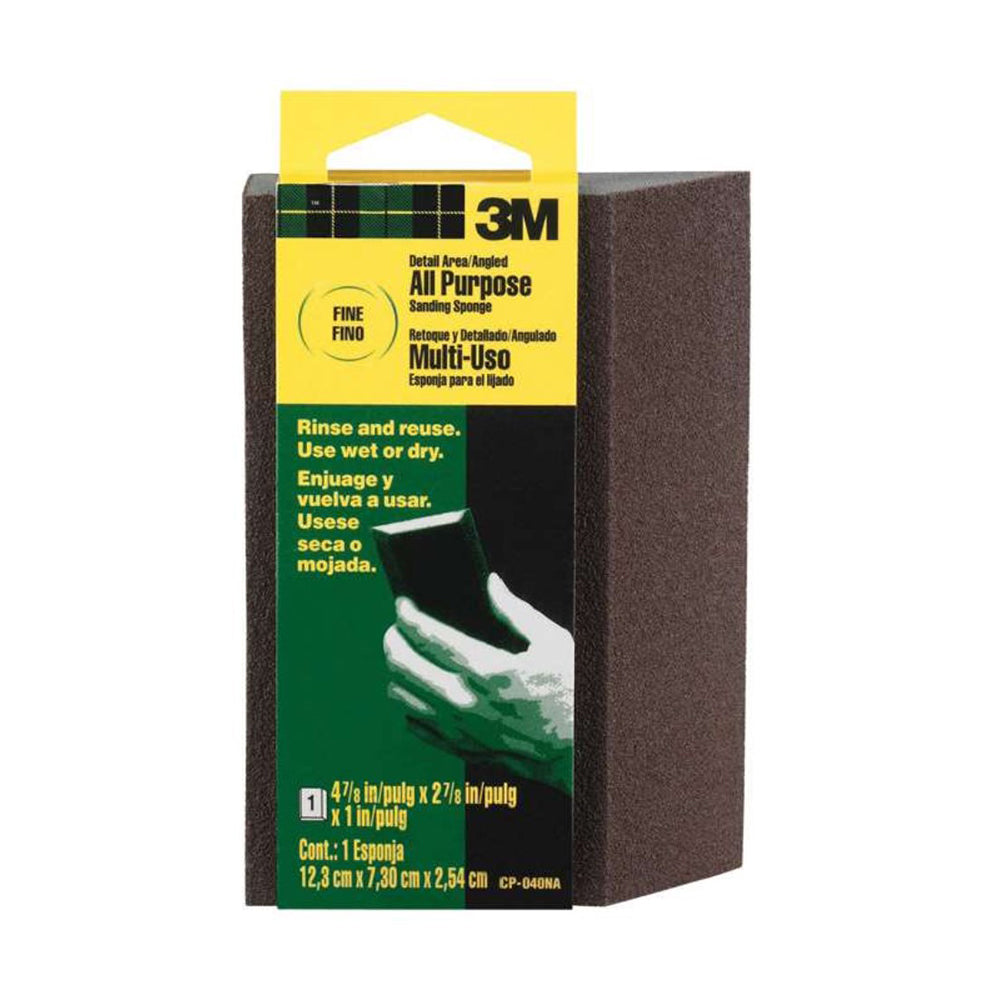 3M Angled Sanding Sponge, available at Kelly-Moore Paints in CA, TX, NV & OK.
