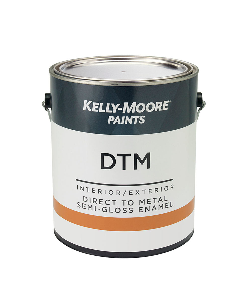 Kelly-Moore DTM Interior / Exterior Semi-Gloss Enamel Gallon