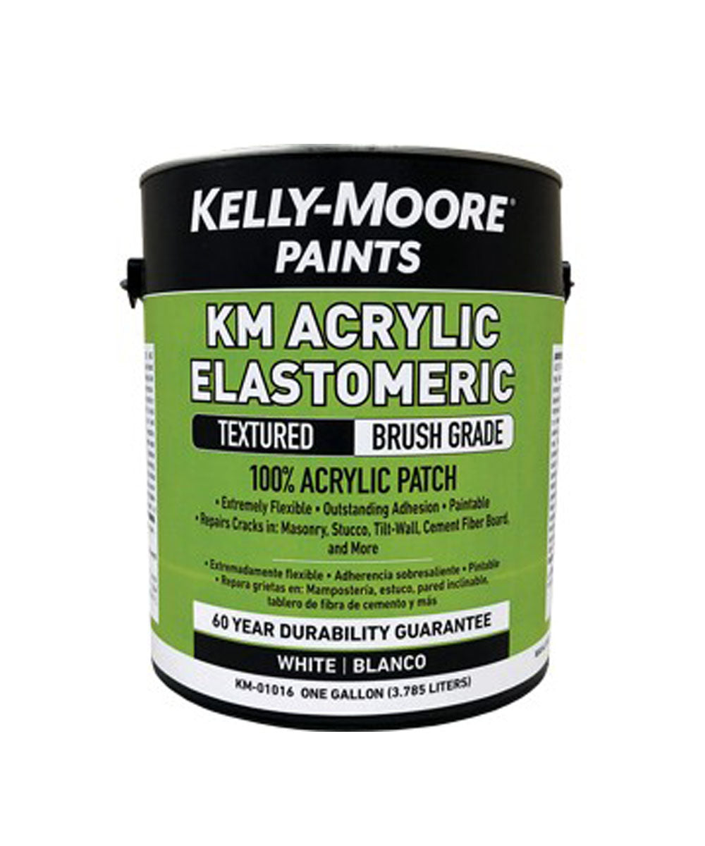 Kelly-Moore 1 Gallon Acrylic Elastomeric Textured Brush Grade Patch