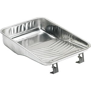 "11"" 2 quart metal paint tray, available at Kelly-Moore Paints in CA, TX, NV & OK."