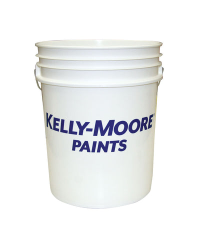 Kelly-Moore 5 Gallon White Bucket