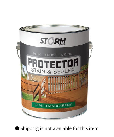 Storm Protector Semi-Transparent Stain & Sealer
