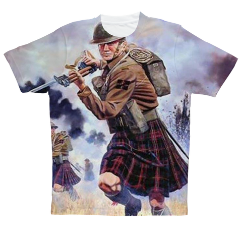 """Scotsman"" Full Print T-Shirt"