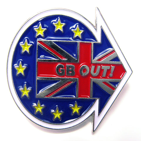 GB Out Lapel Badge