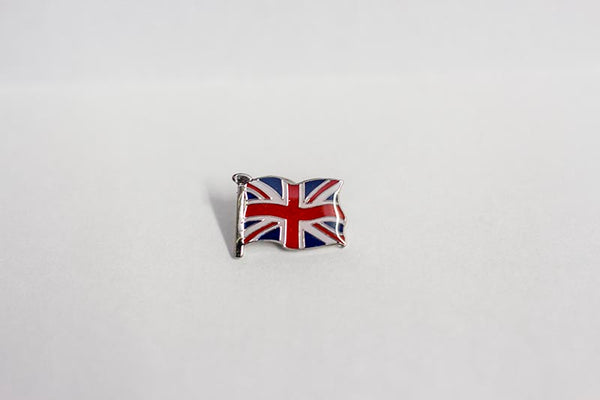 """British Flag"" Lapel Badge"