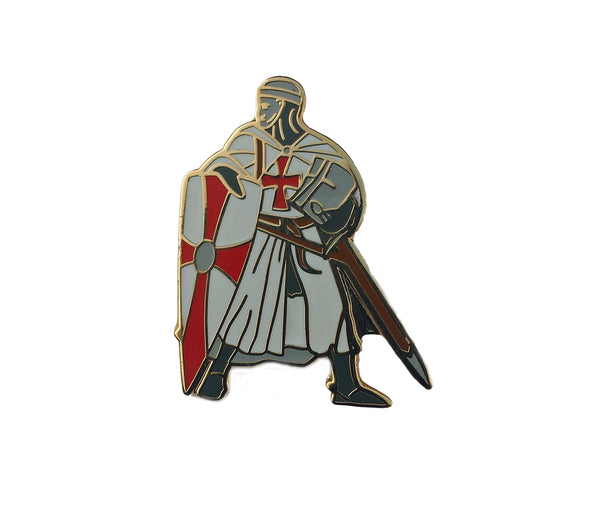 Battle Ready Knight Lapel Badge