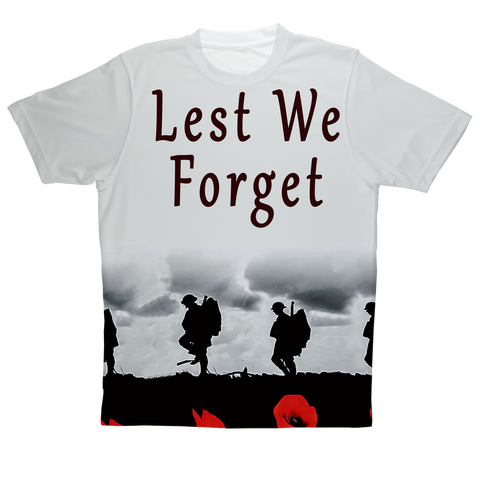 """Respect and Remember"" Full Print T-Shirt"