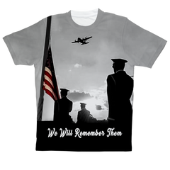 """America Lest We Forget"" Full Print T-Shirt"