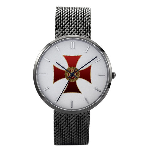"""Knights Templar Red Cross"" Watch"