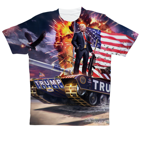 """Trump's Tank"" Full Print T-Shirt"