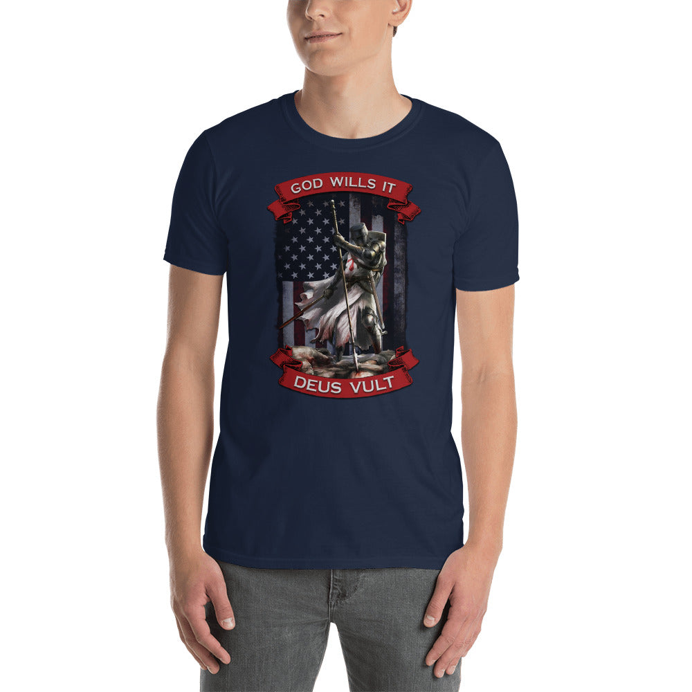 God Wills It Short-Sleeve Unisex T-Shirt
