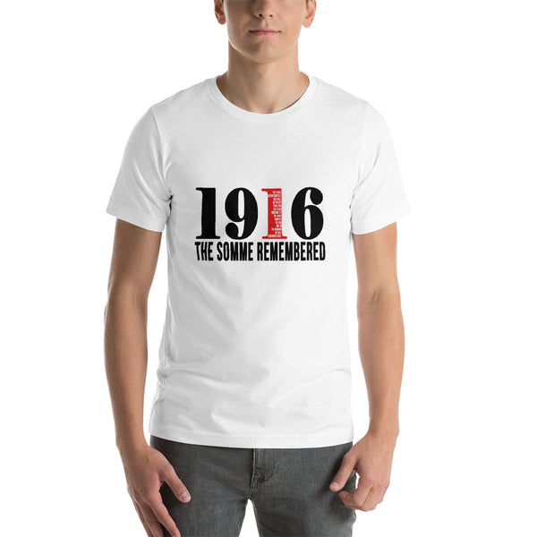 """1916 The Somme Remembered"" T-Shirt"