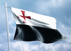 FREE Templar Battle Flag
