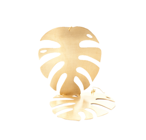 MINIMAL GOLD -Aros Monstera