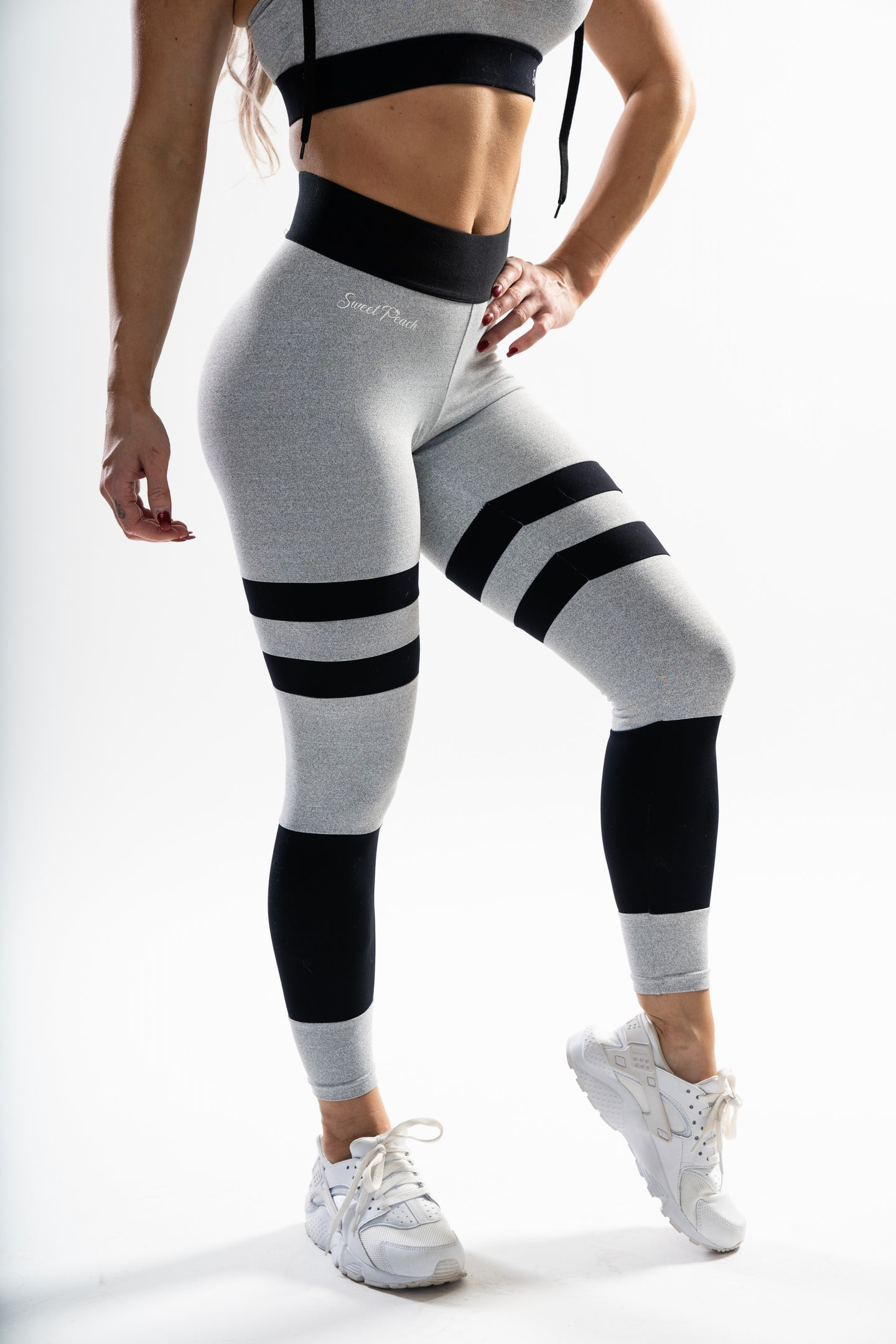 Light Grey - Scrunch Bum Leggings