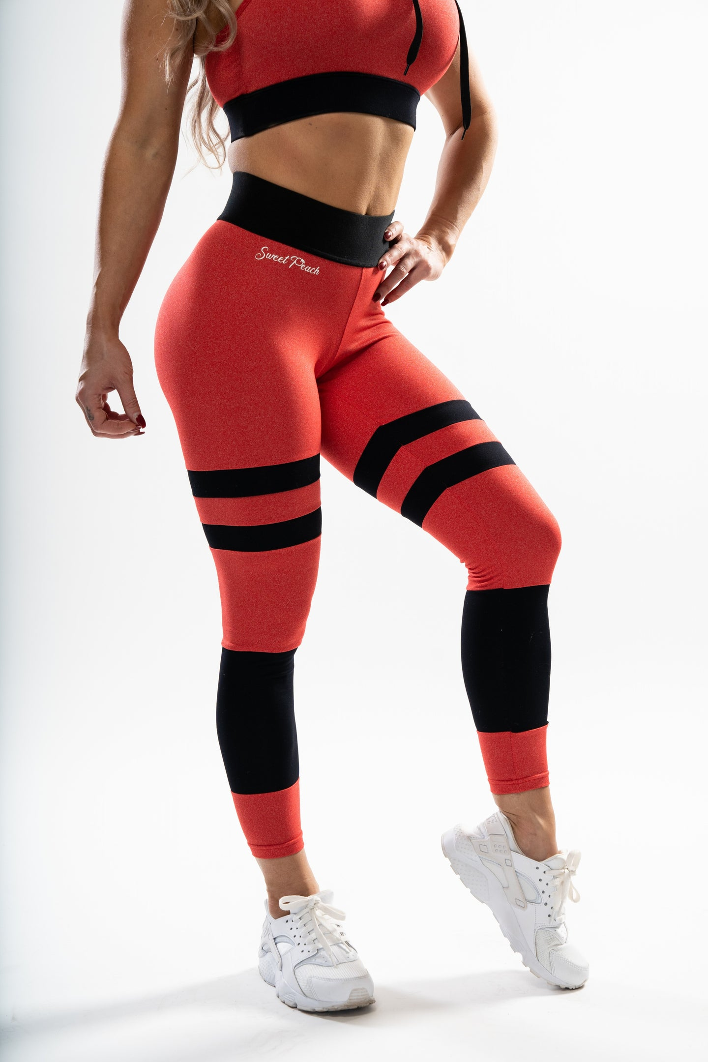 Red - Scrunch Bum Leggings