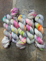 Pool Party - Hand dyed merino/nylon