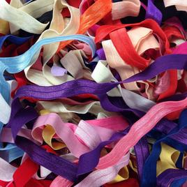 "Fold Over Elastic 5/8"" - GRAB BAG"