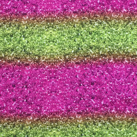 Glitter ~ Magenta and Yellow/Green