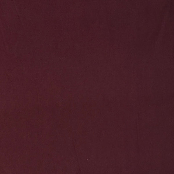 Solid Double Brushed Poly Spandex ~ Dark Raisin