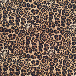 Animal Print Brushed Poly Spandex