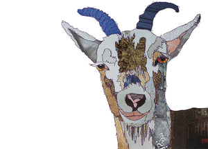 'Billy Goat' - Greetings Card