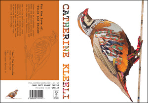 'Partridge' - Greetings Card / Print - CK0115