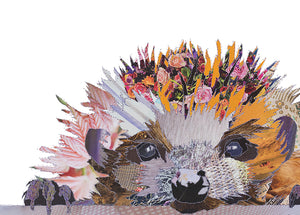 'Spike the Hedgehog' - Greetings Card