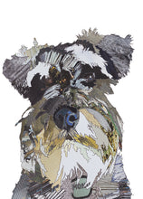 CK0149 - 'Monty the Schnauzer' - Greetings Card