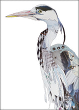 'Heron' - Greetings Card / Print - CK0160