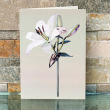 'Lily' - Greetings Card / Print - CKHF01B