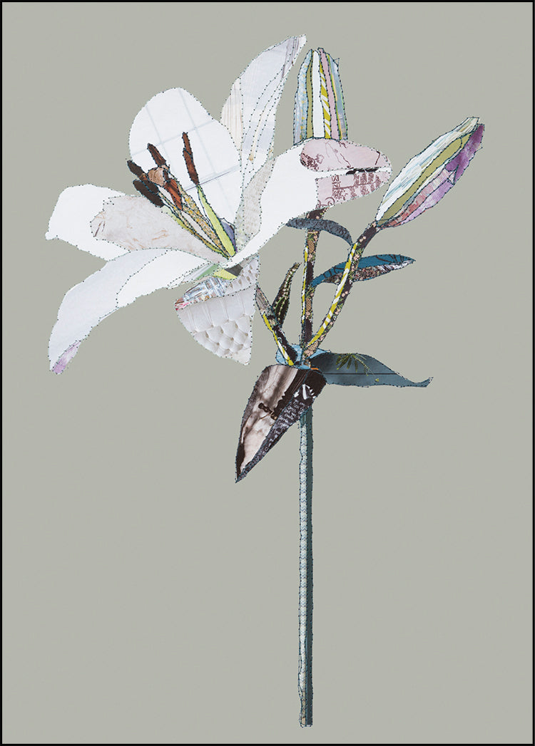'Lily' - Greetings Card - CKHF01B