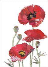 'Poppies' - Greetings Card / Print - CKHF03B