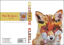 'Fox Cub' - Greetings Card / Print - CKMB05