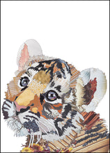 'Tiger Cub' - Greetings Card / Print - CKMB06