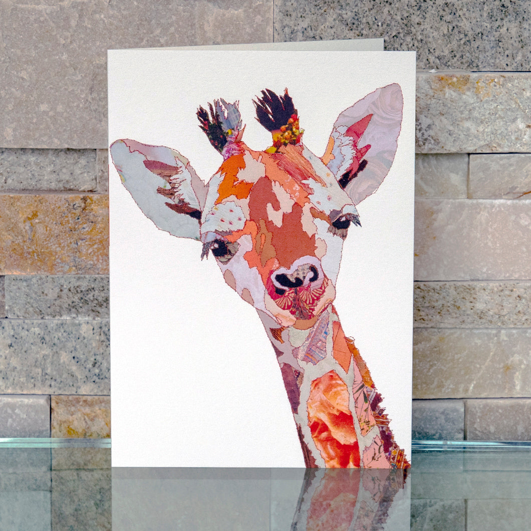'Baby Giraffe' - Greetings Card / Print - CKMB10