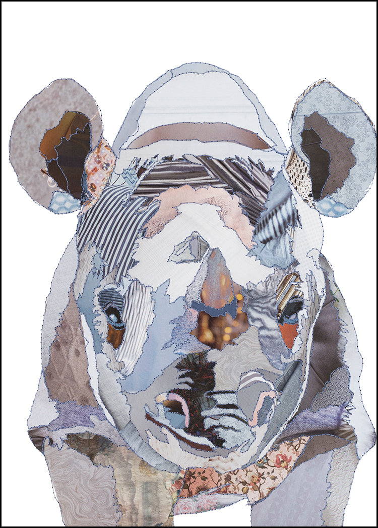 'Baby Rhino' - Greetings Card - CKMB11
