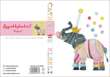 'Elephant' - Greetings Card - CKZ001
