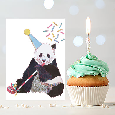 'Panda' - Greetings Card - CKZ004