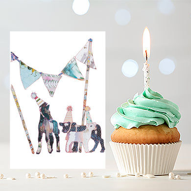'Party Gang' - Greetings Card - CKZ005
