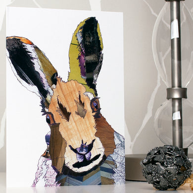 CK0102 - 'Hare' - Greetings Card
