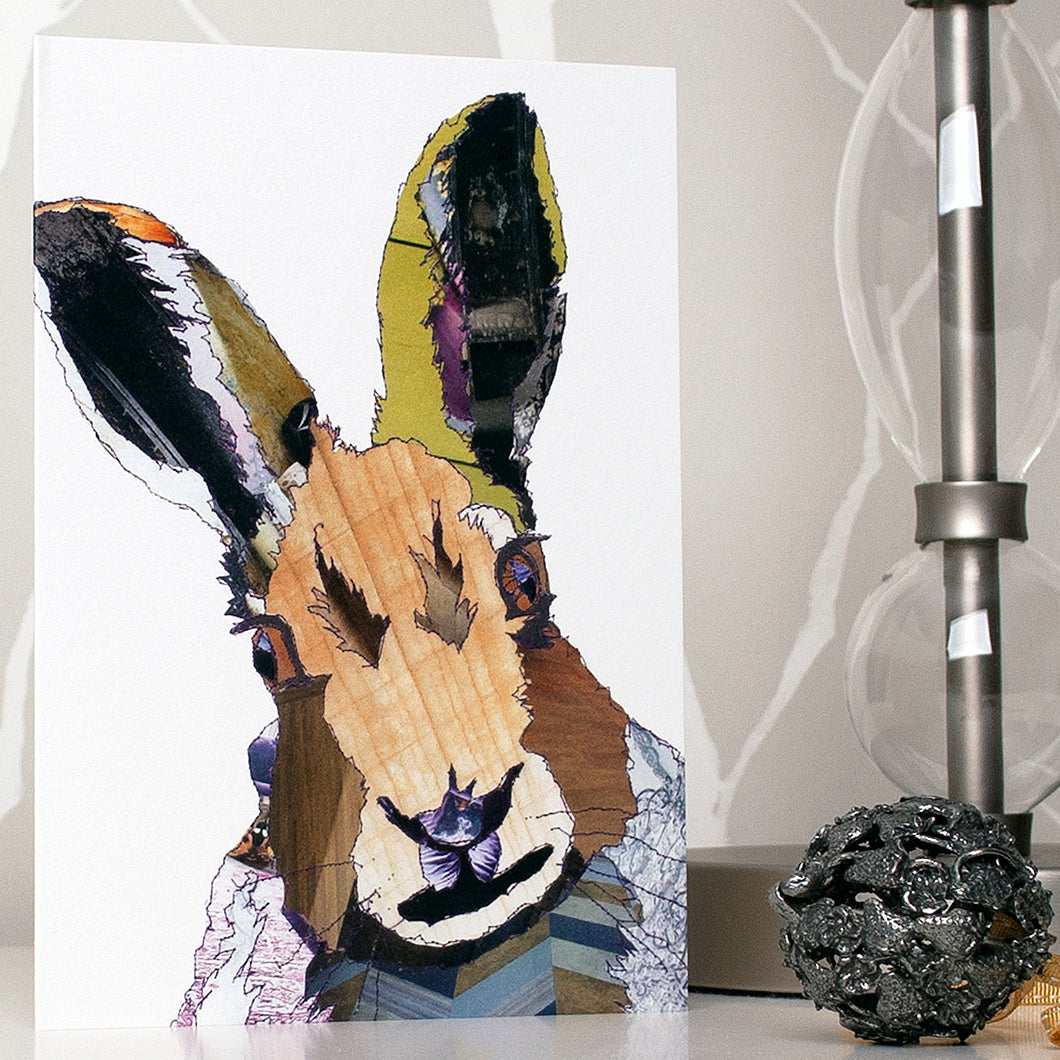 'Hare' - Greetings Card - CK0102
