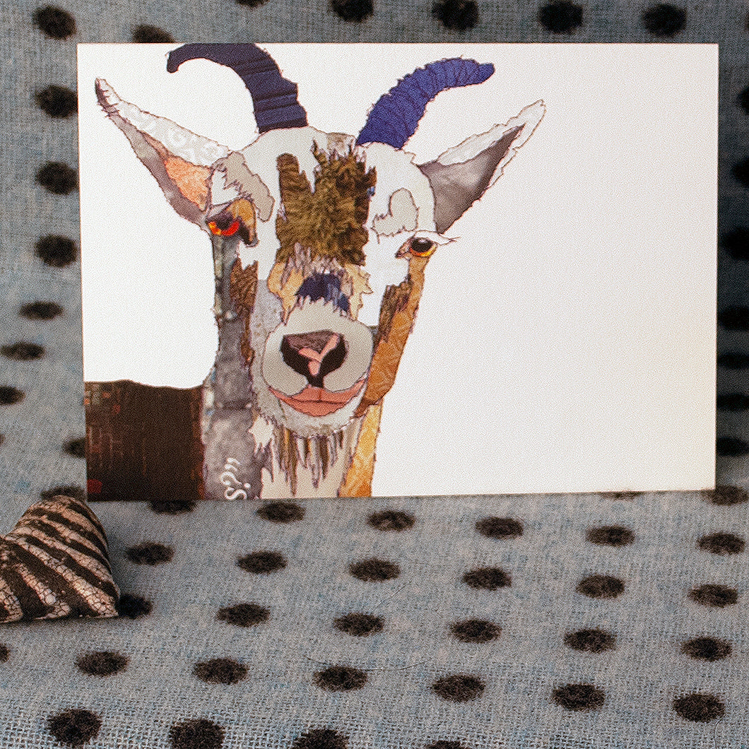 'Billy Goat' - Greetings Card / Print - CK0103