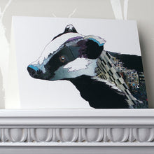 'Badger' - Greetings Card - CK0104