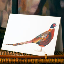 'Pheasant' - Greetings Card