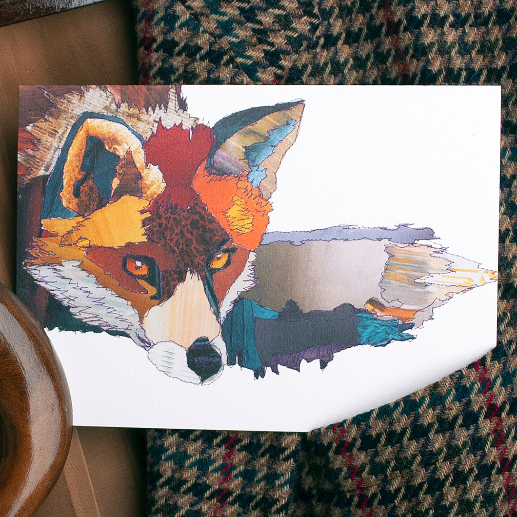 'Fox' - Greetings Card / Print - CK0109